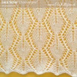 Champagne Lace Schal DE