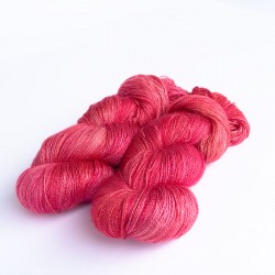 Seide Alpaka Royal Lace Rot
