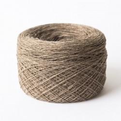 Cashmere Silk Wool Kaschmir Seide Braun Merinowolle 100 g 1400 m Wolle günstig Konengarn  Maschinengarn Strickwolle Webgarn
