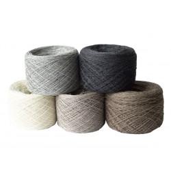Cashmere Silk Wool Kaschmir Seide Beige Merinowolle 100 g 1400 m Wolle günstig Konengarn  Maschinengarn Strickwolle Webgarn