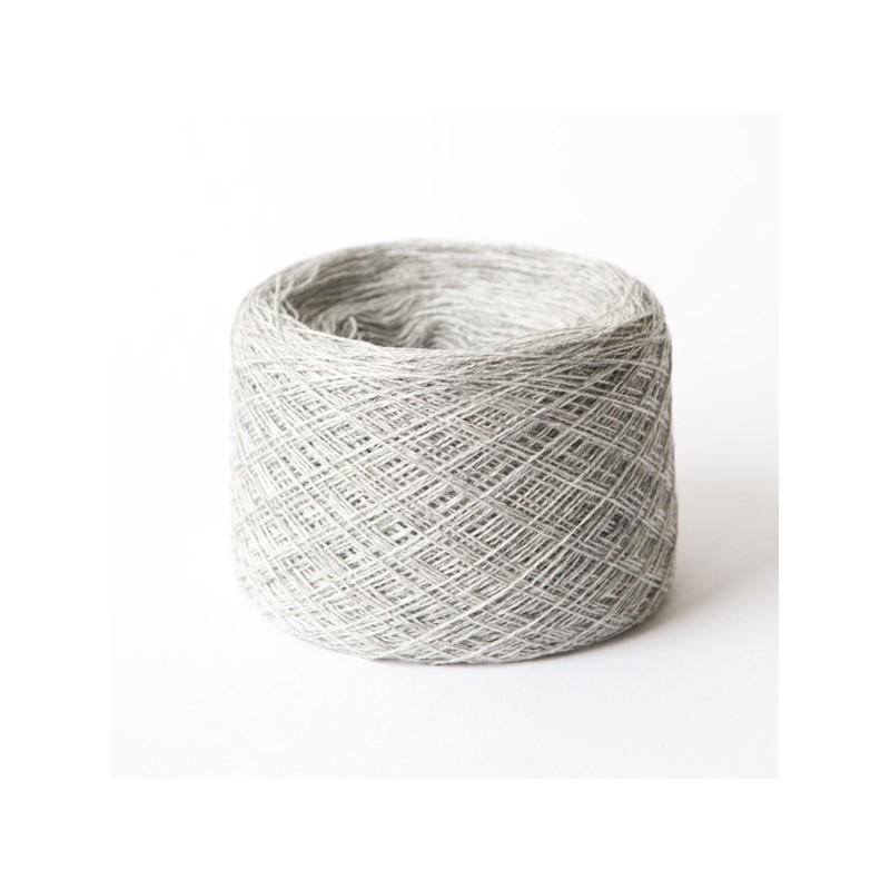 Cashmere Silk Wool Kaschmir Seide Hellgrau Merinowolle 100 g 1400 m Wolle günstig Konengarn  Maschinengarn Strickwolle Webgarn