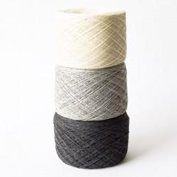 Cashmere Silk Wool Kaschmir Seide Dunkelgrau Merinowolle  Lace Wolle günstig Konengarn  Maschinengarn Strickwolle Webgarn
