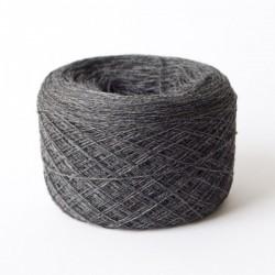 Cashmere Silk Wool Kaschmir Seide Dunkelgrau Merinowolle 100 g 1400 m Wolle günstig Konengarn  Maschinengarn Strickwolle Webgarn