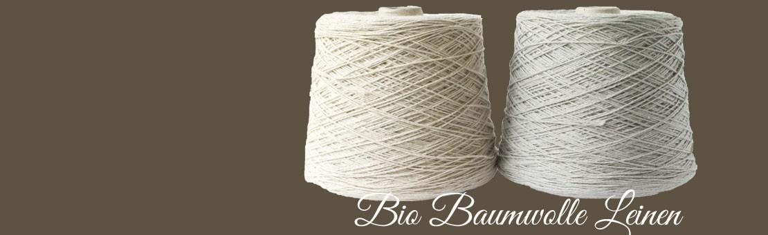 Cotton Linen Garn auf Konen